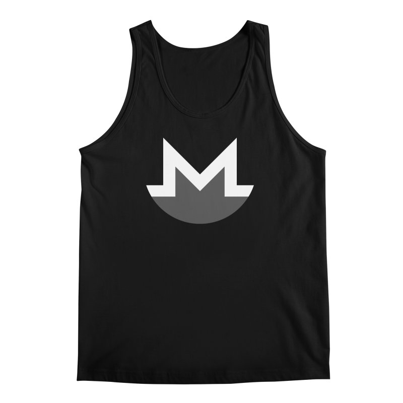 Monero Logo Men's Regular Tank by satoshi's Artist Shop