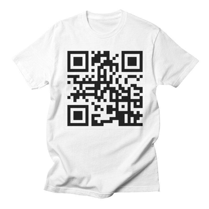 XMR QR Men's Regular T-Shirt by satoshi's Artist Shop