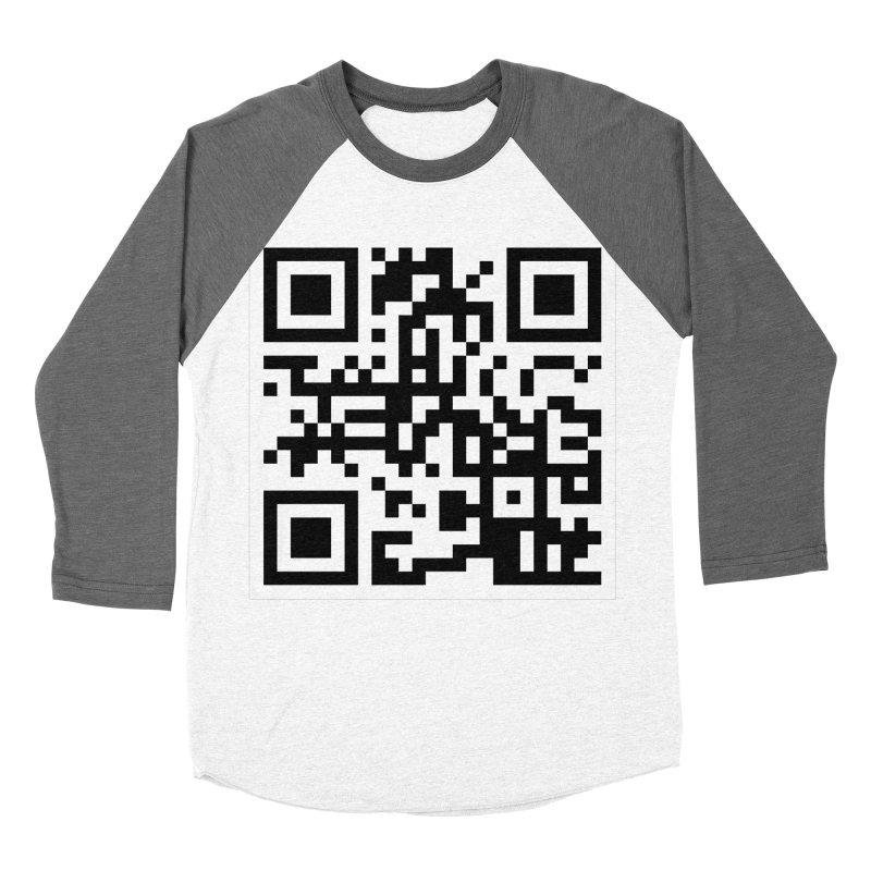 XMR QR Women's Baseball Triblend Longsleeve T-Shirt by satoshi's Artist Shop
