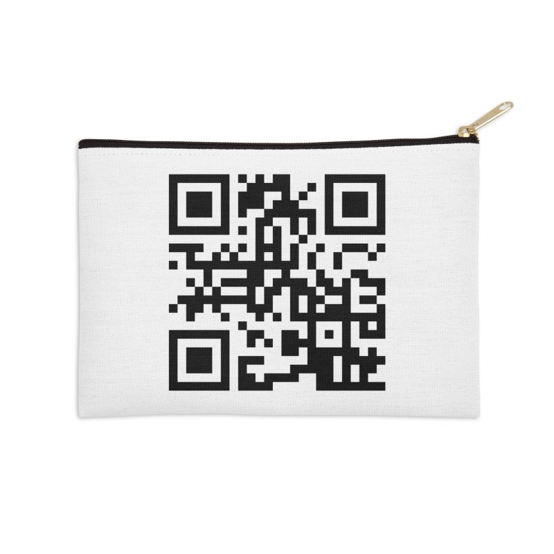 XMR QR Accessories Zip Pouch by satoshi's Artist Shop