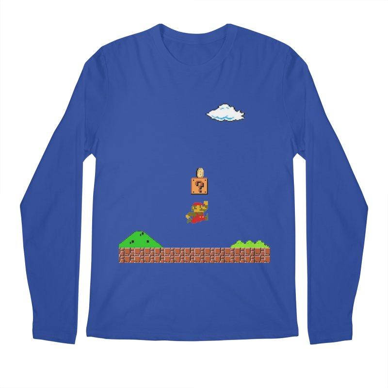 How mining works Men's Regular Longsleeve T-Shirt by satoshi's Artist Shop
