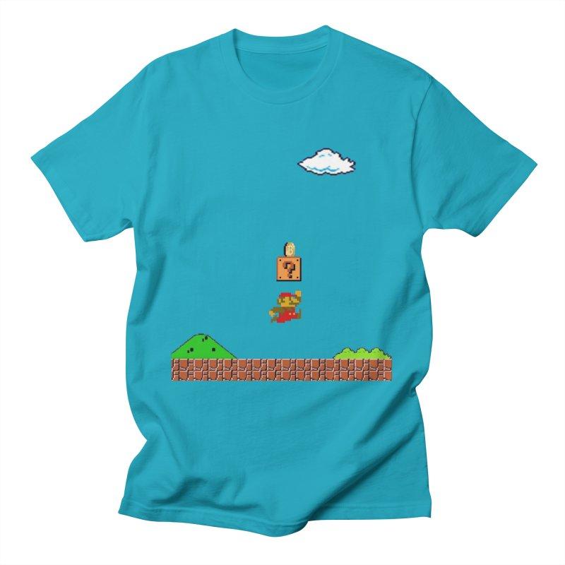 How mining works Men's T-Shirt by satoshi's Artist Shop