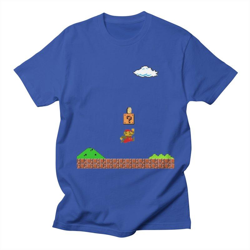 How mining works Men's Regular T-Shirt by satoshi's Artist Shop