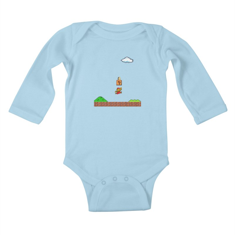 How mining works Kids Baby Longsleeve Bodysuit by satoshi's Artist Shop