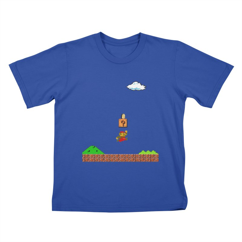 How mining works Kids T-Shirt by satoshi's Artist Shop