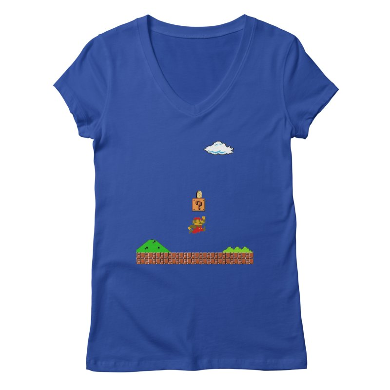 How mining works Women's Regular V-Neck by satoshi's Artist Shop