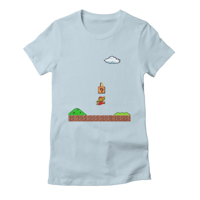 How mining works Women's Fitted T-Shirt by satoshi's Artist Shop