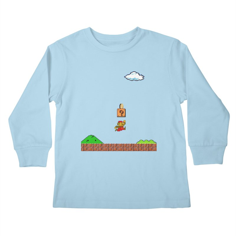 How mining works Kids Longsleeve T-Shirt by satoshi's Artist Shop