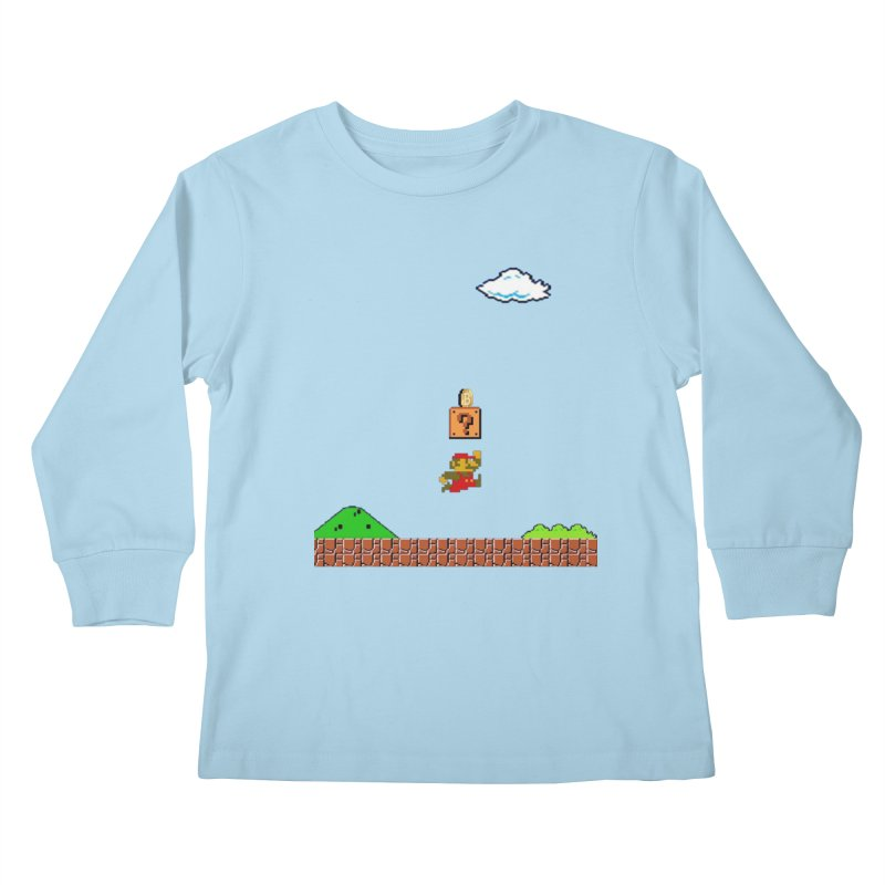 How mining works Kids Longsleeve T-Shirt by satoshi's Artist Shop