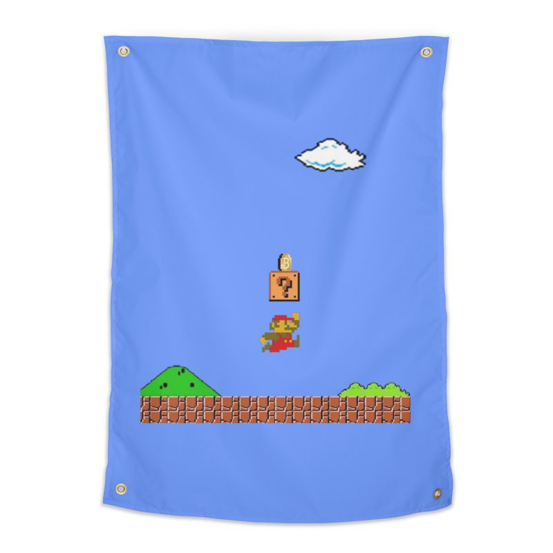 How mining works Home Tapestry by satoshi's Artist Shop