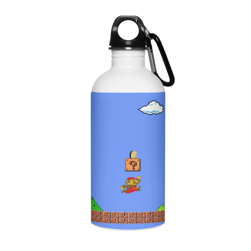 How mining works Accessories Water Bottle by satoshi's Artist Shop