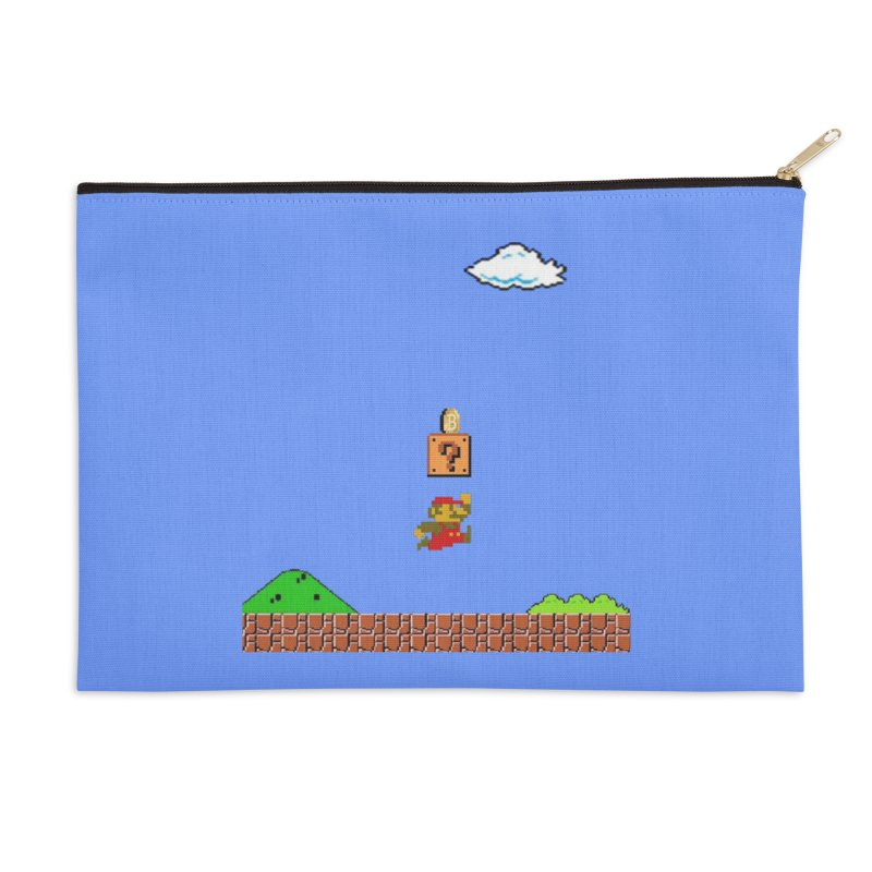 How mining works Accessories Zip Pouch by satoshi's Artist Shop