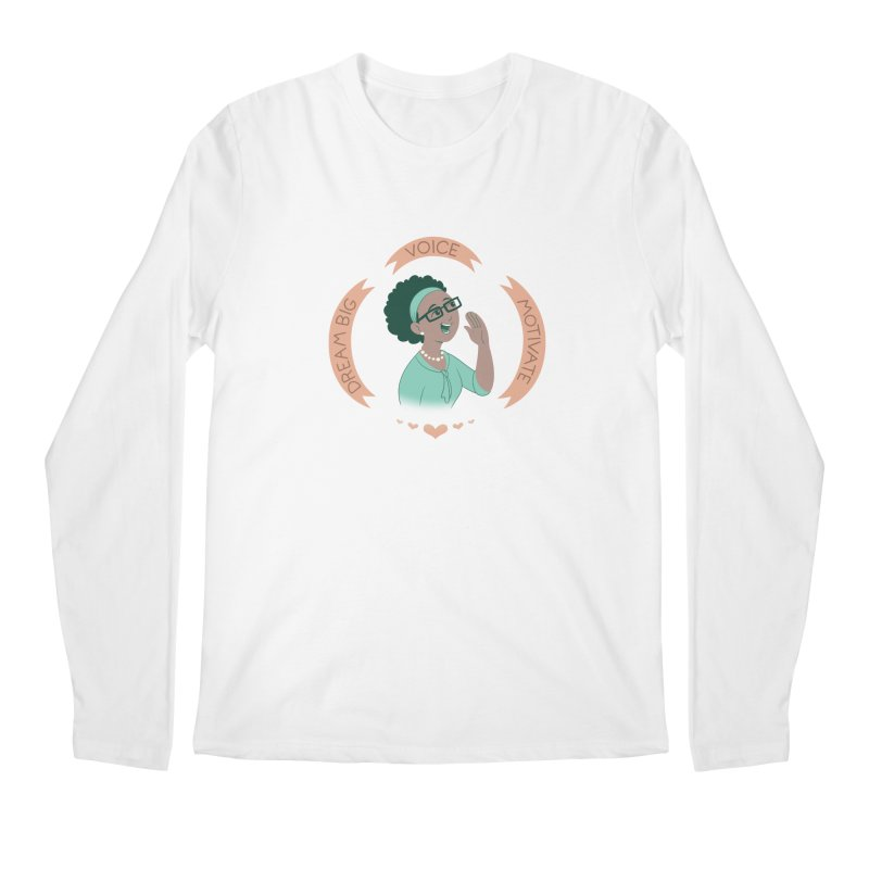 Voice Men's Longsleeve T-Shirt by satruntwins's Artist Shop
