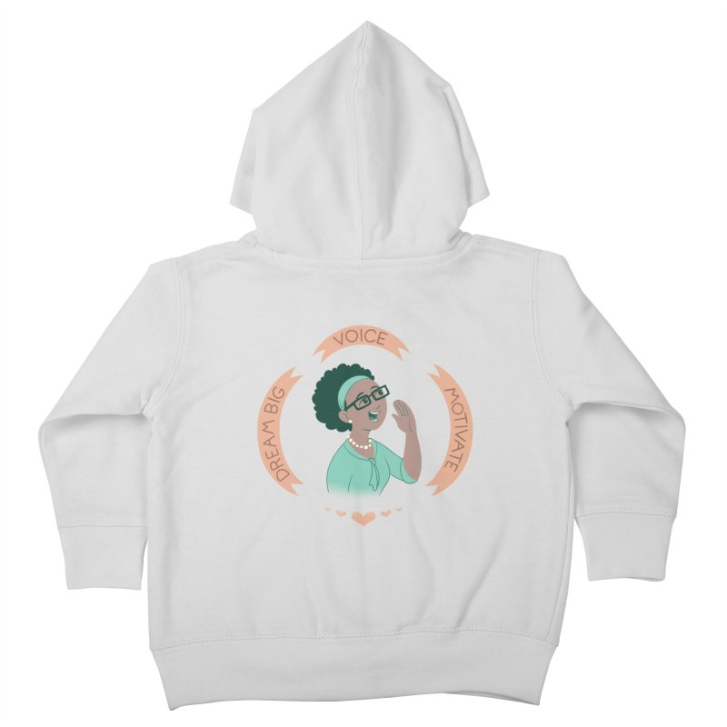 Voice Kids Toddler Zip-Up Hoody by satruntwins's Artist Shop