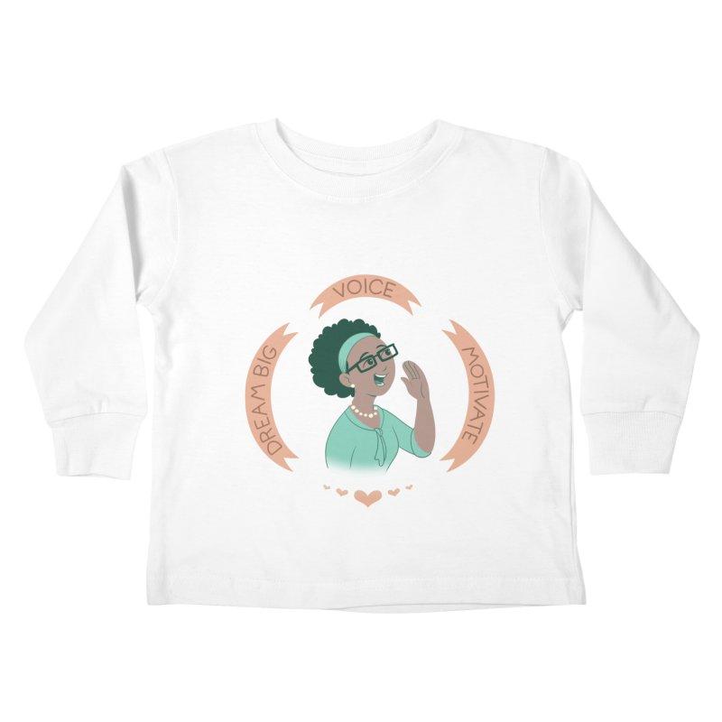 Voice Kids Toddler Longsleeve T-Shirt by satruntwins's Artist Shop