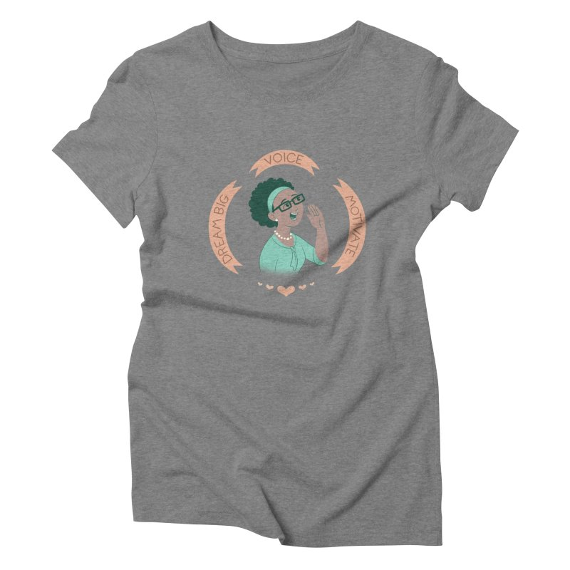 Voice Women's Triblend T-shirt by satruntwins's Artist Shop