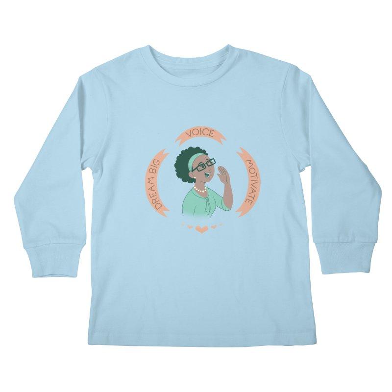 Voice Kids Longsleeve T-Shirt by satruntwins's Artist Shop