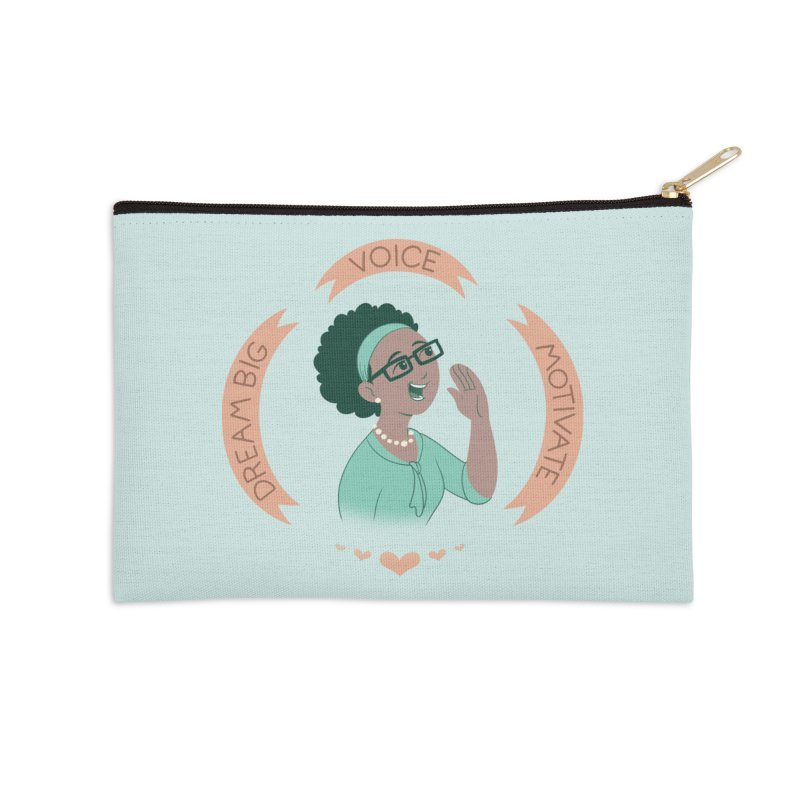 Voice Accessories Zip Pouch by satruntwins's Artist Shop