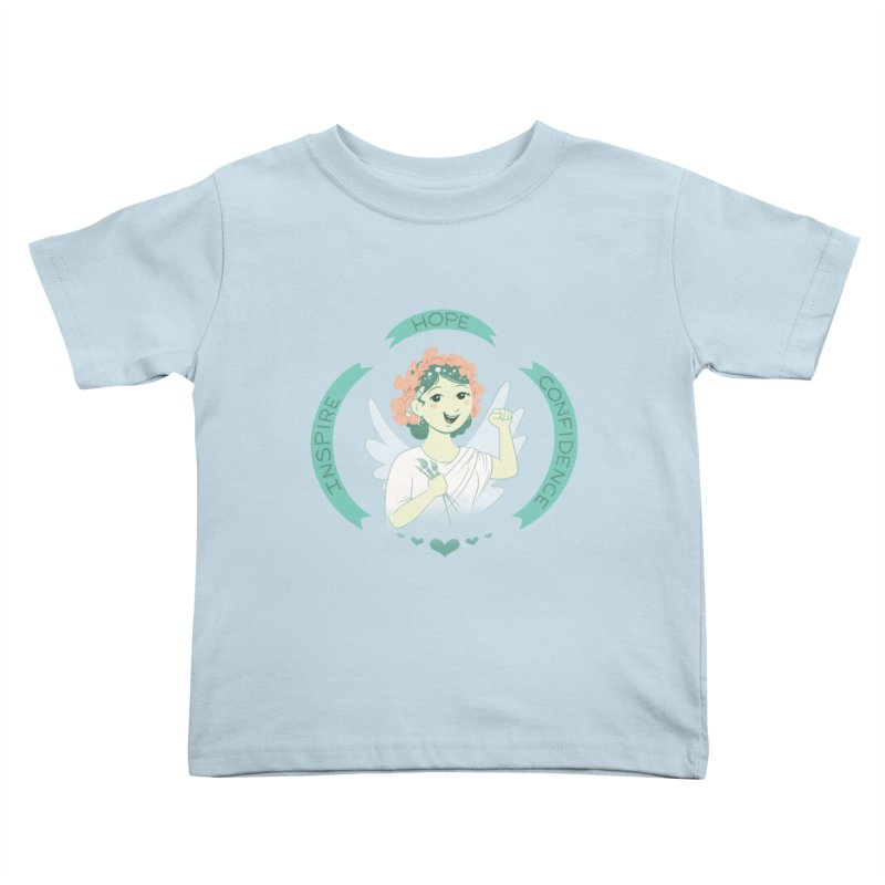 Spread Hope Kids Toddler T-Shirt by satruntwins's Artist Shop