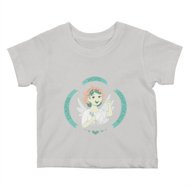 Spread Hope Kids Baby T-Shirt by satruntwins's Artist Shop