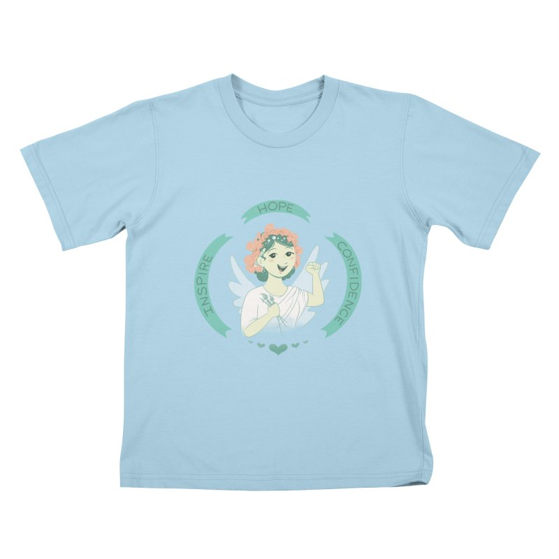 Spread Hope Kids T-Shirt by satruntwins's Artist Shop