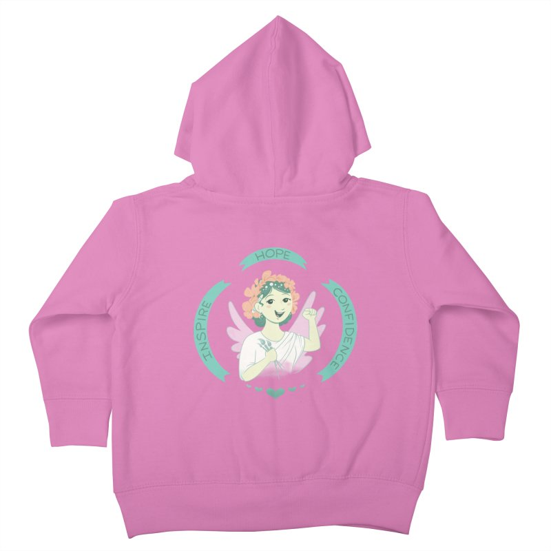 Spread Hope Kids Toddler Zip-Up Hoody by satruntwins's Artist Shop