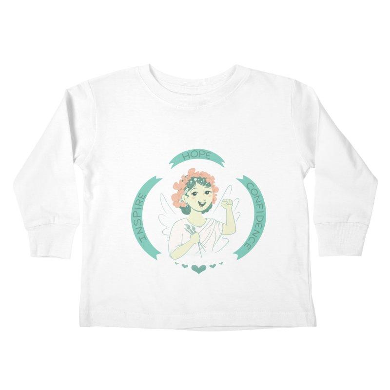 Spread Hope Kids Toddler Longsleeve T-Shirt by satruntwins's Artist Shop