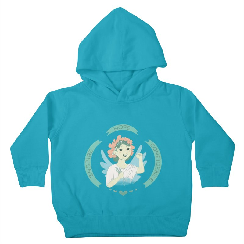 Spread Hope Kids Toddler Pullover Hoody by satruntwins's Artist Shop