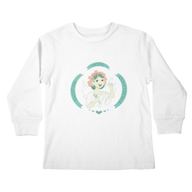 Spread Hope Kids Longsleeve T-Shirt by satruntwins's Artist Shop
