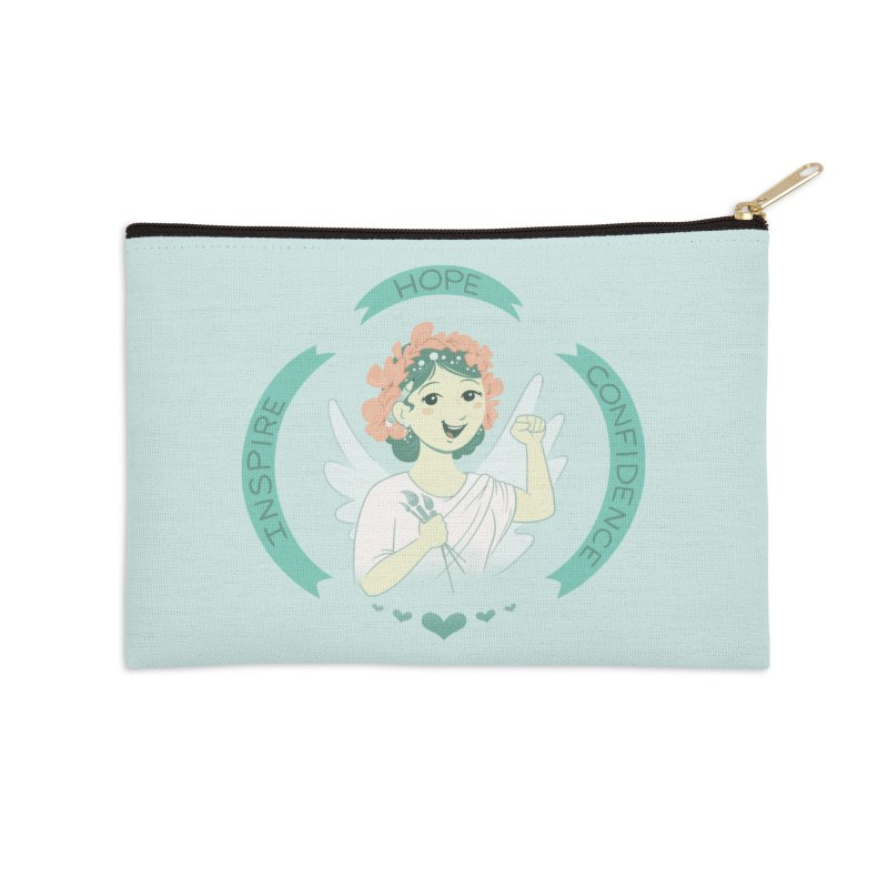 Spread Hope Accessories Zip Pouch by satruntwins's Artist Shop