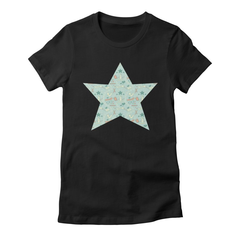 Empower Women's Fitted T-Shirt by satruntwins's Artist Shop