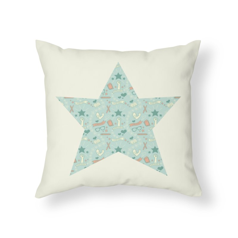 Empower Home Throw Pillow by satruntwins's Artist Shop