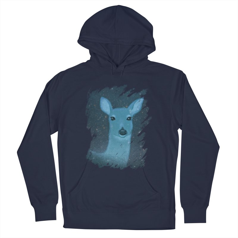 Midnight Deer Women's Pullover Hoody by satruntwins's Artist Shop