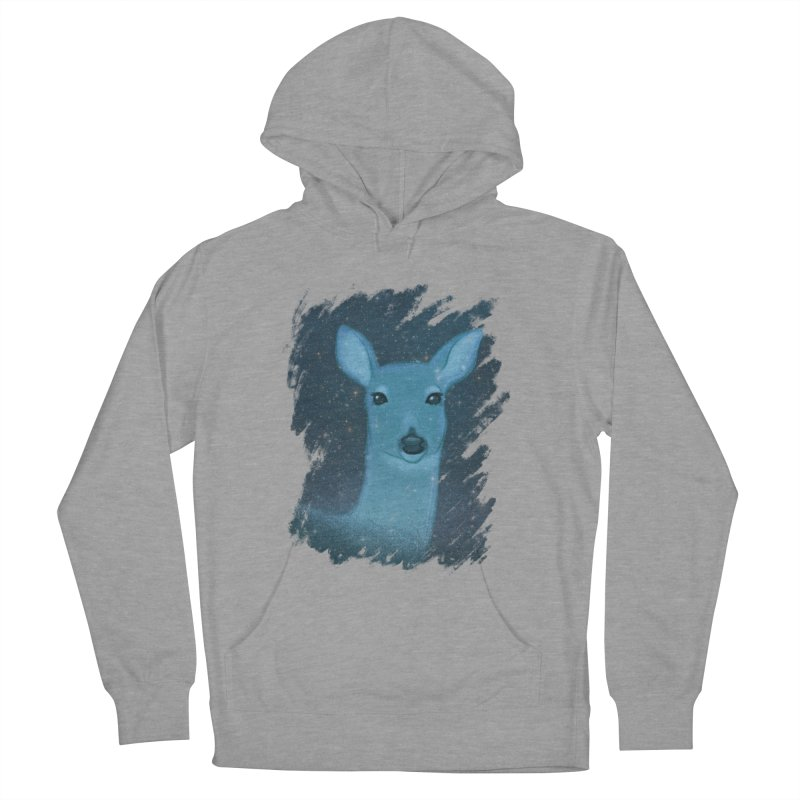 Midnight Deer Men's Pullover Hoody by satruntwins's Artist Shop