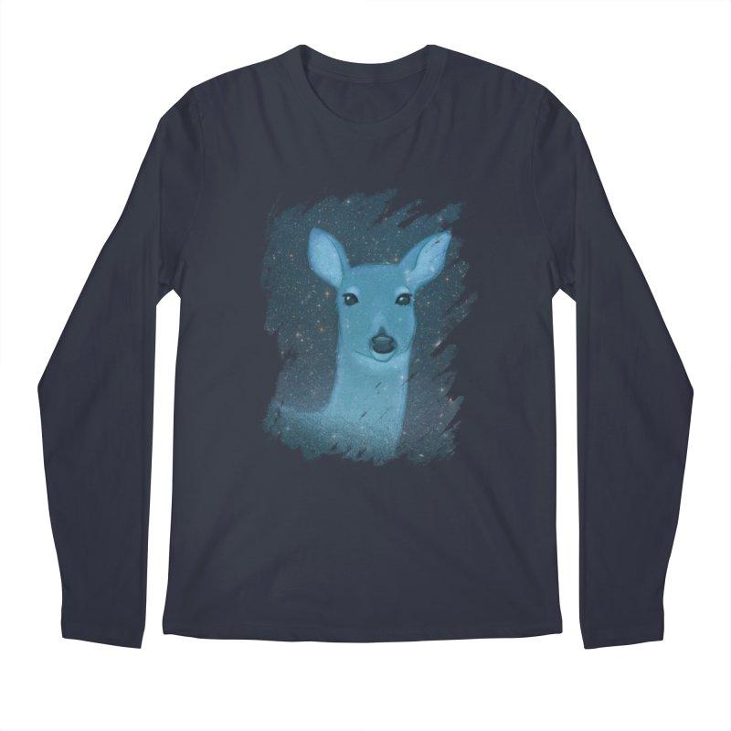Midnight Deer Men's Longsleeve T-Shirt by satruntwins's Artist Shop