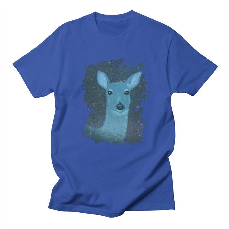 Midnight Deer Women's Unisex T-Shirt by satruntwins's Artist Shop