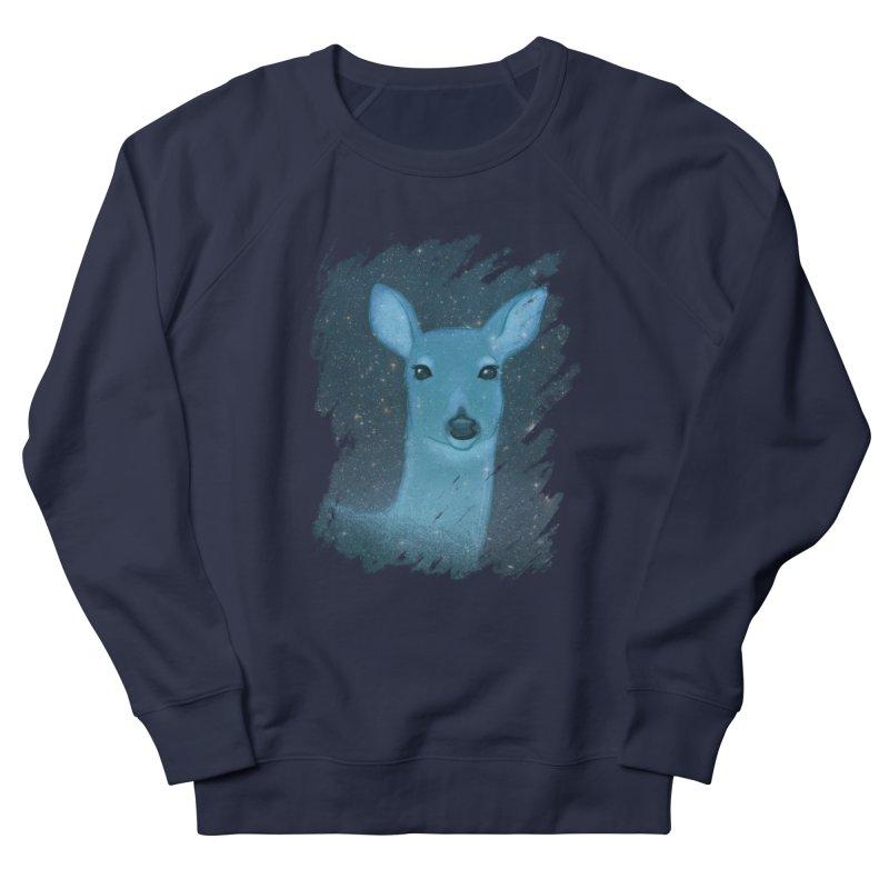 Midnight Deer Women's Sweatshirt by satruntwins's Artist Shop