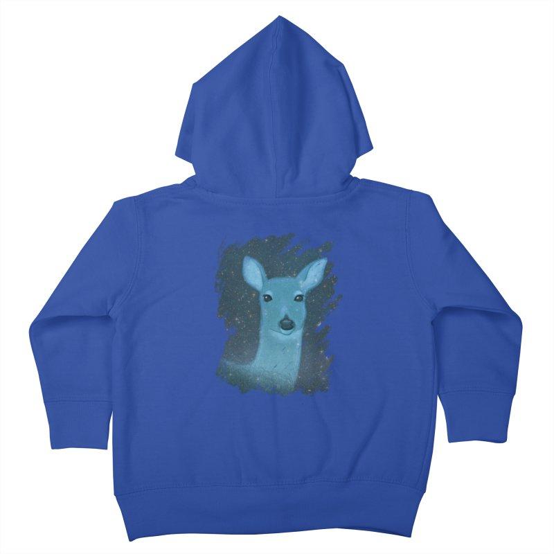 Midnight Deer Kids Toddler Zip-Up Hoody by satruntwins's Artist Shop