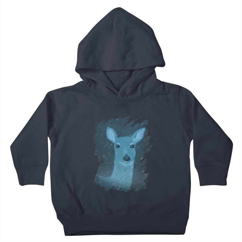 Midnight Deer Kids Toddler Pullover Hoody by satruntwins's Artist Shop