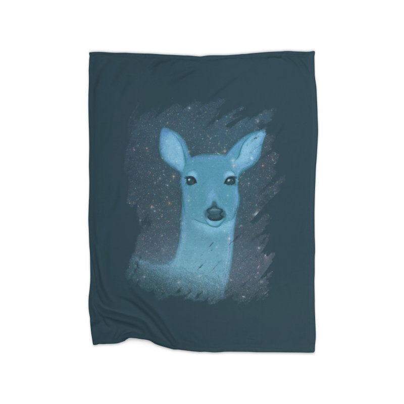 Midnight Deer Home Blanket by satruntwins's Artist Shop