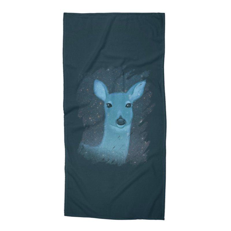 Midnight Deer Accessories Beach Towel by satruntwins's Artist Shop