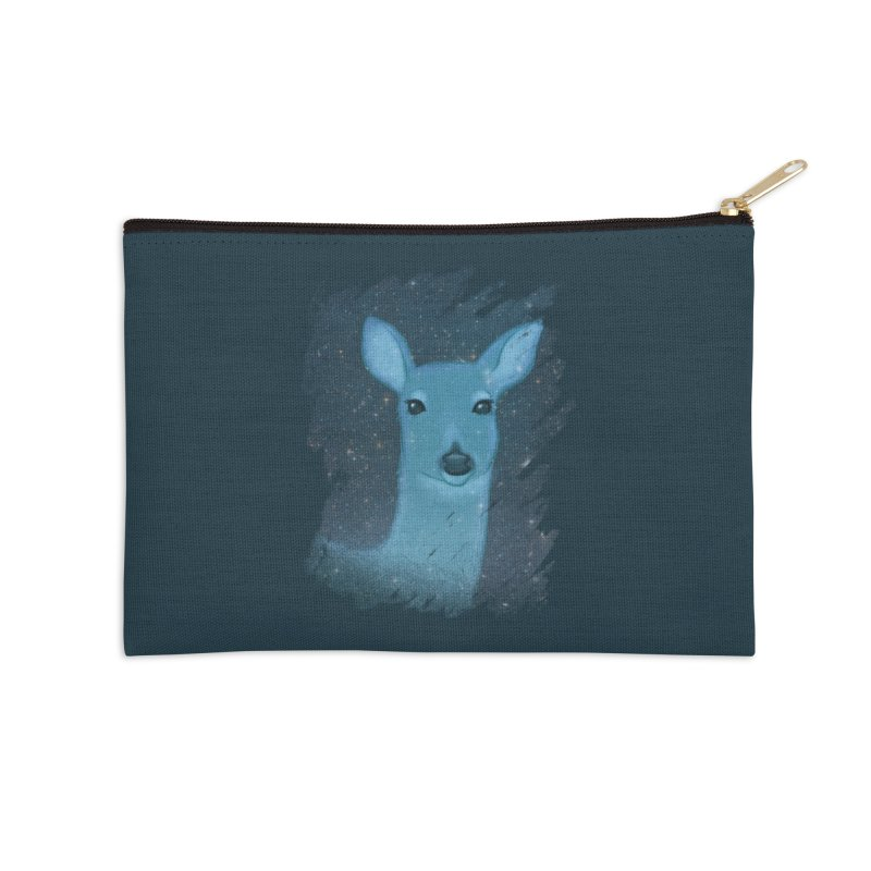 Midnight Deer Accessories Zip Pouch by satruntwins's Artist Shop