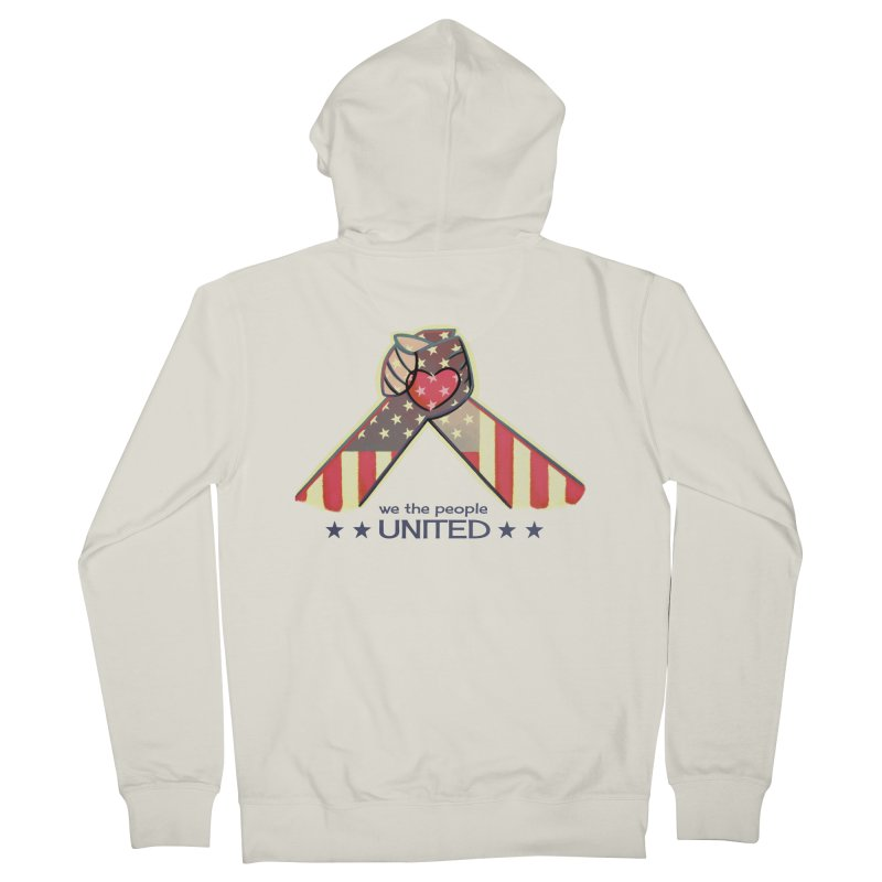 United Women's Zip-Up Hoody by satruntwins's Artist Shop