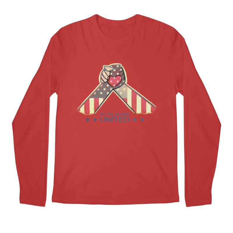 United Men's Longsleeve T-Shirt by satruntwins's Artist Shop
