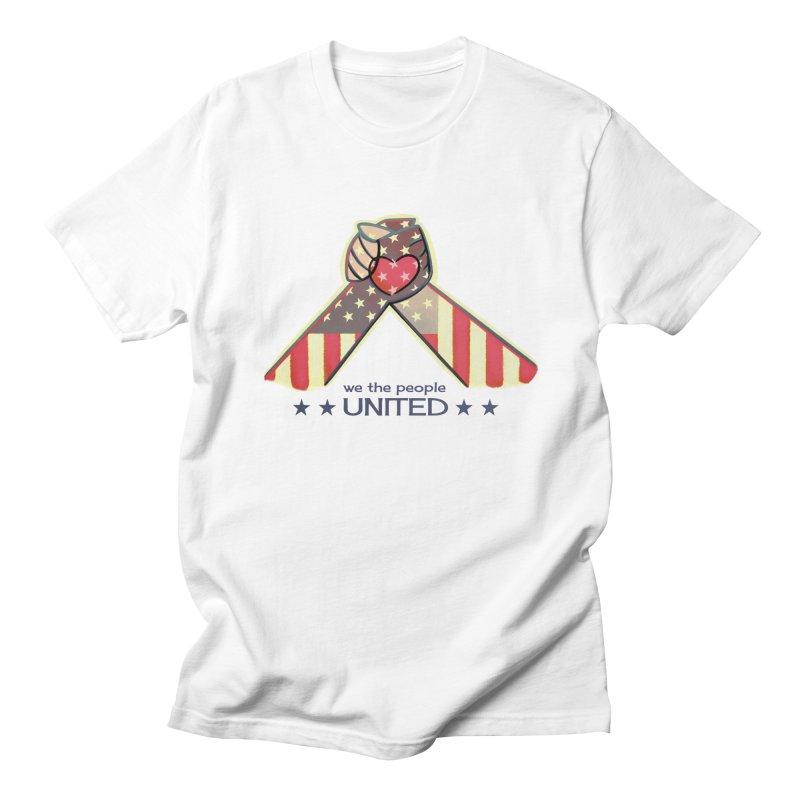 United Women's Unisex T-Shirt by satruntwins's Artist Shop