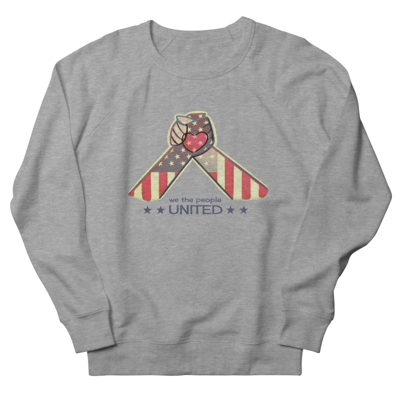 United Women's Sweatshirt by satruntwins's Artist Shop