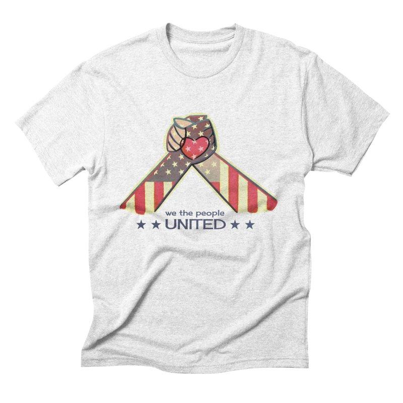 United Men's Triblend T-shirt by satruntwins's Artist Shop