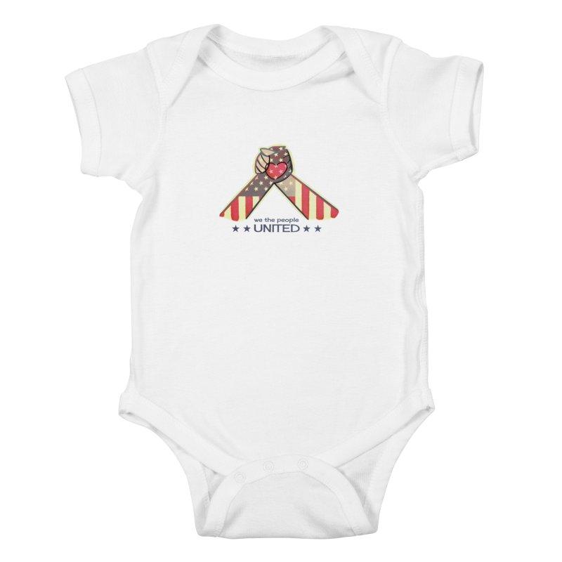 United Kids Baby Bodysuit by satruntwins's Artist Shop