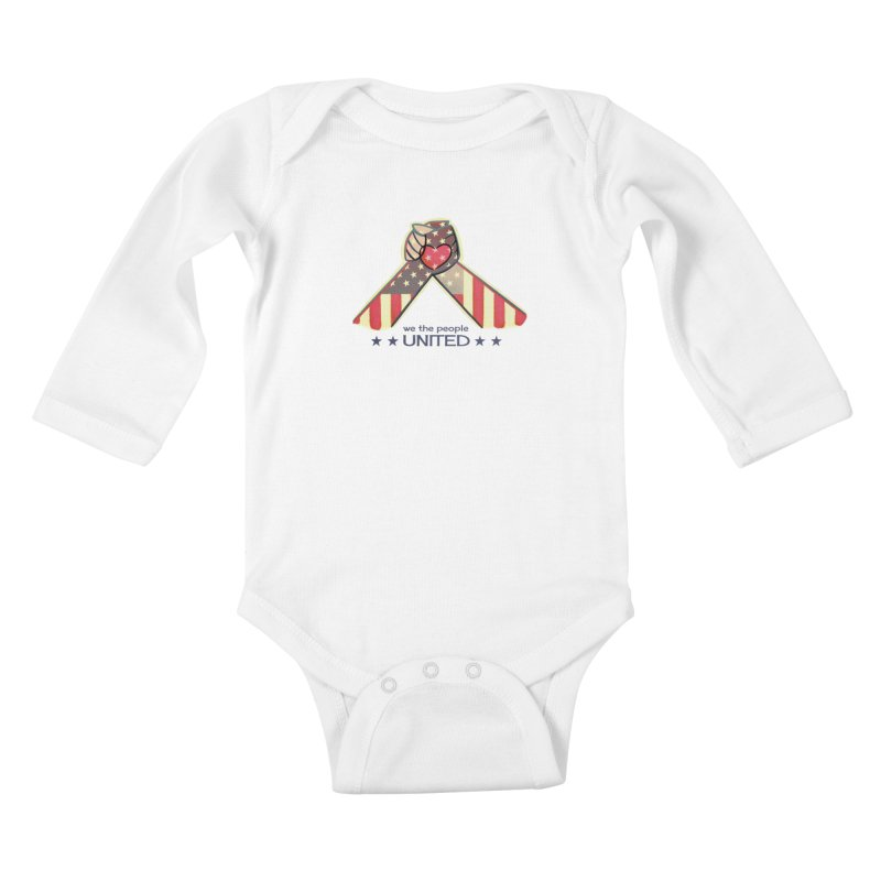 United Kids Baby Longsleeve Bodysuit by satruntwins's Artist Shop