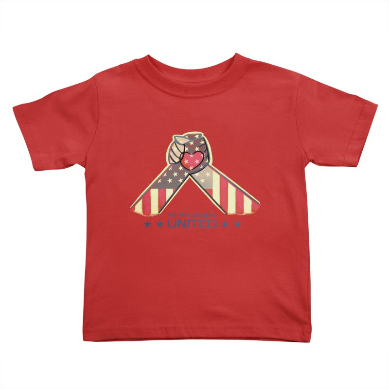 United Kids Toddler T-Shirt by satruntwins's Artist Shop